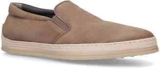 J.P Tods Raffia Skate Shoes