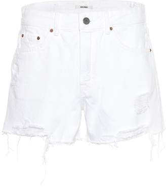GRLFRND Helena high-rise denim shorts