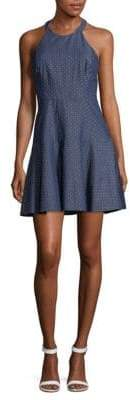 Parker Chambray Fit And Flare Dress