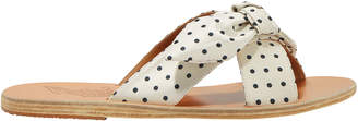 Ancient Greek Sandals Thais Polka Dot Sandals