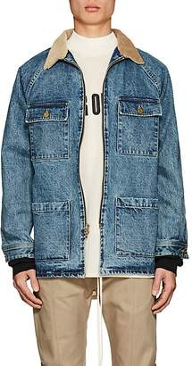 Fear Of God Men's Corduroy-Collar Denim Jacket