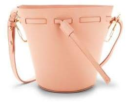 Zac Posen Mini Beley Leather Bucket Bag