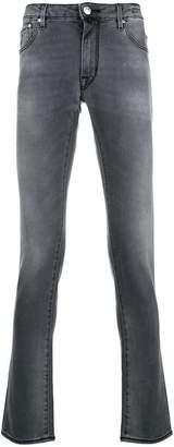 Jacob Cohen washed slim fit jeans