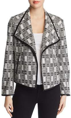 Calvin Klein Metallic Tweed Jacket