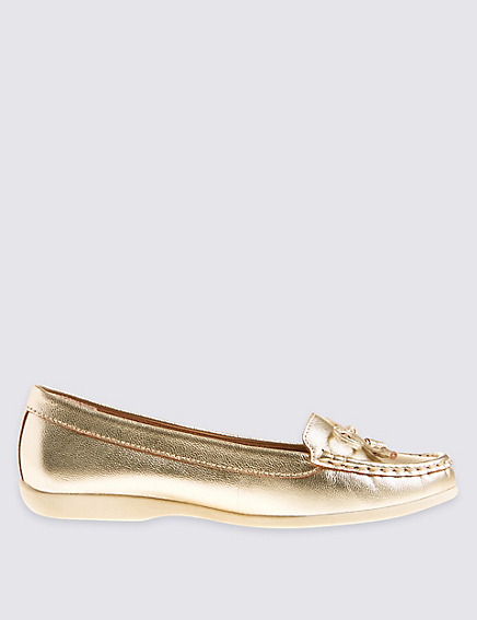 Gold Low Heel Shoes - ShopStyle Australia