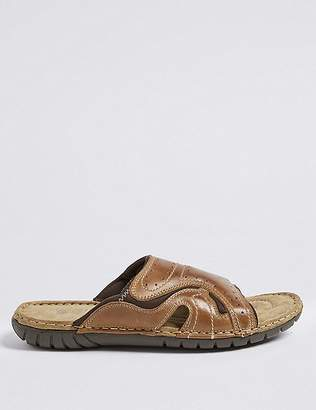Marks and Spencer Leather Slip-on Sandals