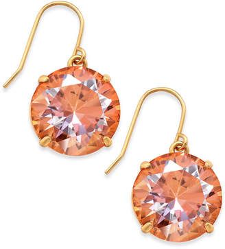 Kate Spade Shine On Gold-Tone Crystal Drop Earrings