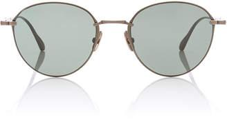Mulholland Mr. Leight 52 Cat-Eye Titanium Sunglasses