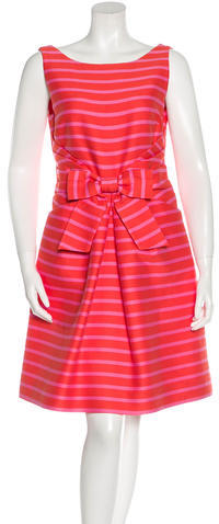 Kate Spade Kate Spade New York Striped A-Line Dress