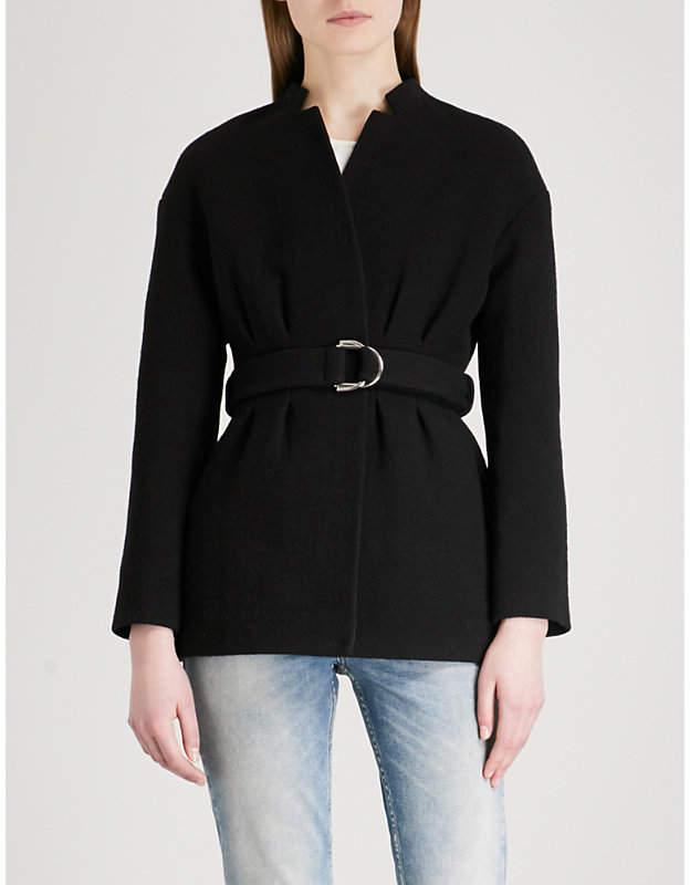 Gato buckled-belt cotton-blend blazer