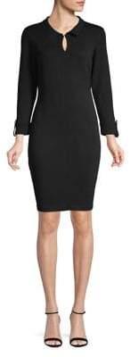 Karl Lagerfeld Paris Classic Collared Dress