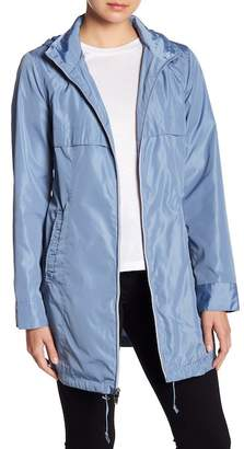 Via Spiga Babydoll Hooded Jacket