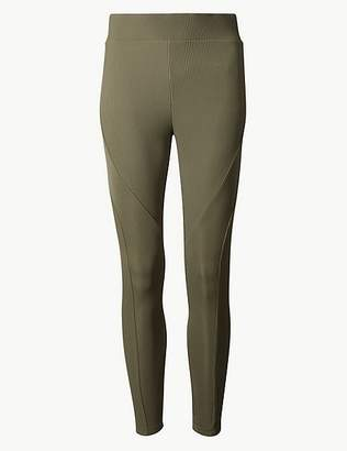 Marks and Spencer Textured Super Skinny Ankle Grazer Leggings