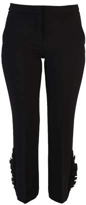 N°21 N.21 Black Cropped Trousers