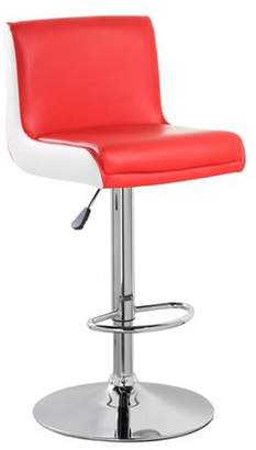 Generic PU Leather Airlift Adjustable Swivel Barstool with Chrome Base(5070), Multiple Colors