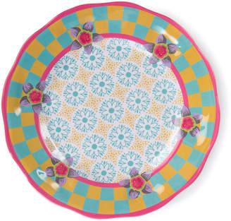 Mackenzie Childs Florabundance Melamine Salad Plates, Set of 4
