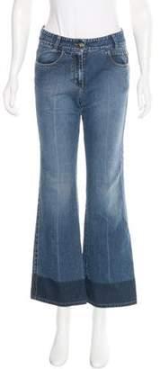 Sonia Rykiel Flared Mid-Rise Jeans