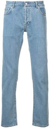 Officine Generale Kurt fitted jeans