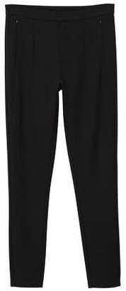 MANGO Decorative seam leggings