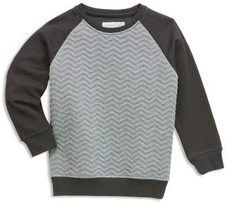 Sovereign Code Boys' Quilted & French Terry Color Block Sweatshirt - Big Kid