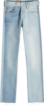 Vetements Two Color Jeans