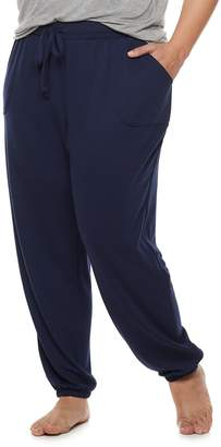 Sonoma Goods For Life Plus Size SONOMA Goods for Life French Terry Banded Bottom Sleep Pants