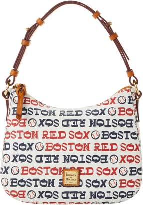 Dooney & Bourke MLB Red Sox Small Kiley Hobo