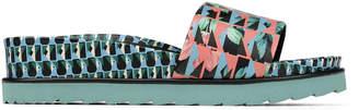 Donald J Pliner CAVA, Nappa Leather Platform Sandal