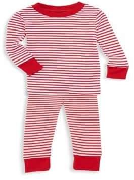 Kissy Kissy Baby's Two-Piece Top& Pants Striped Pajama Set