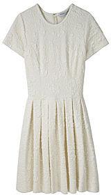 Opening Ceremony Short Sleeved Pleat Dress