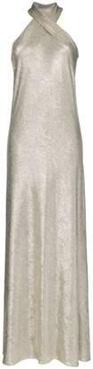 Pandora Galvan halterneck maxi dress
