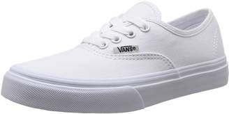 Vans Classic Authentic White Kids Trainers Size Kids 1 UK