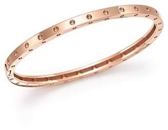 Roberto Coin 18K Rose Gold Symphony Dotted Bangle Bracelet