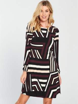 Wallis Colour Block Swing Dress