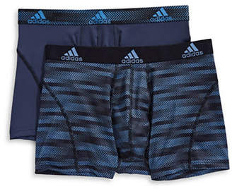 adidas Two-Pack Climalite Trunks