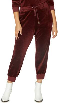 Sanctuary Velour Track Jogger Pants