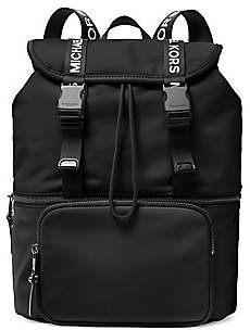 MICHAEL Michael Kors Women's Large Logo Flap Backpack