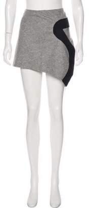 Just Cavalli Wool Mini Skirt