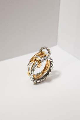 Bottega Veneta Triple ring