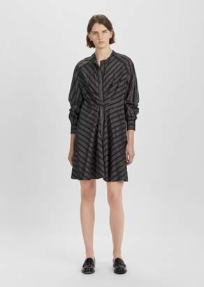 Isabel Marant Victoria Belted Waist Dress Black