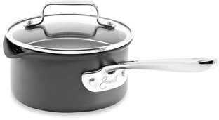 Emerilware Hard Anodized Nonstick 1-Quart Saucepan with Lid