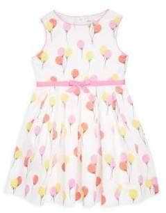 Rachel Riley Toddler's, Little Girl's & Girl's Balloon-Print Cotton Sleeveless Dress