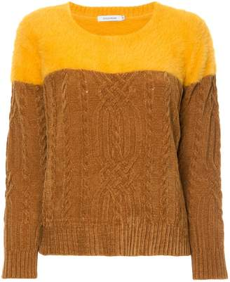 GUILD PRIME cable-knit sweater