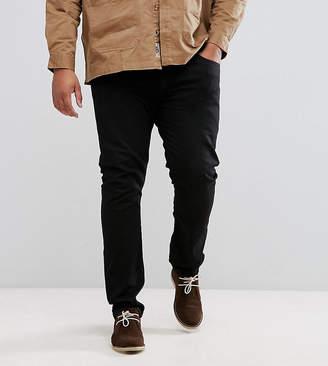 Lee PLUS Luke Skinny Jeans in Black