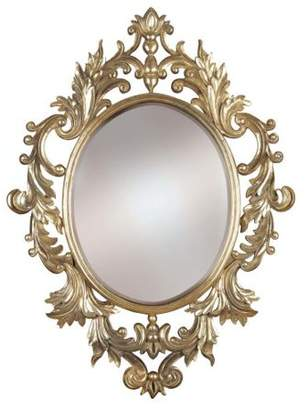 Kenroy Home Louis Wall Mirror, Silver Leaf
