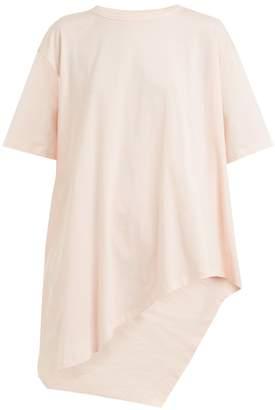 Vika Gazinskaya Asymmetric-hem cotton-jersey T-shirt