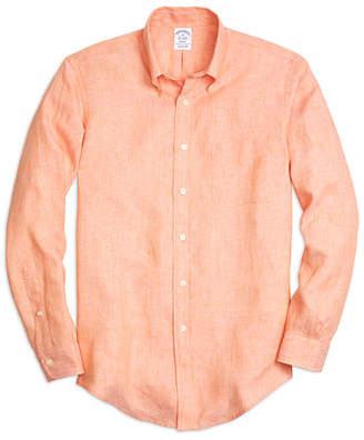 Brooks Brothers Regent Fit Linen Sport Shirt