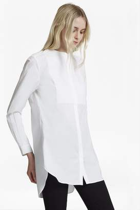 French Connection Smithson Cotton Bib Front Shirt