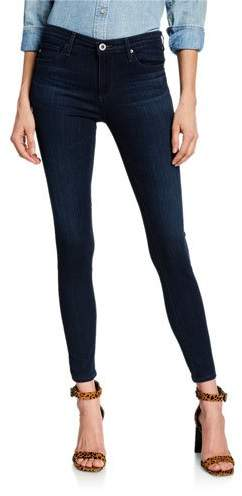 AG The Legging Ankle Jeans, Coal Gray