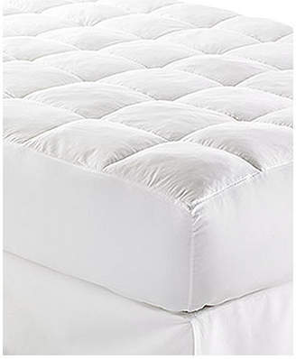 "Lauren Ralph Lauren Closeout! Lux-Loft King Mattress Pad with 17"" Stretch Skirt, Certified Asthma and Allergy Friendly"